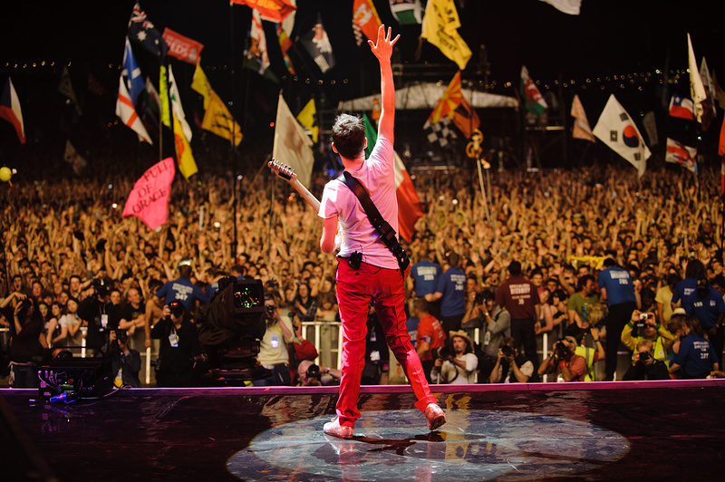 I Muse suoneranno a Glastonburry