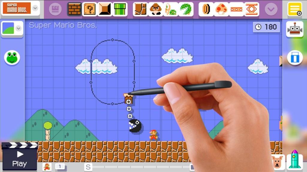 Editor Super Mario Maker