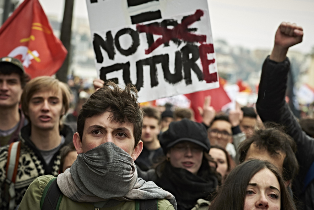 I francesi contro la riforma sul lavoro