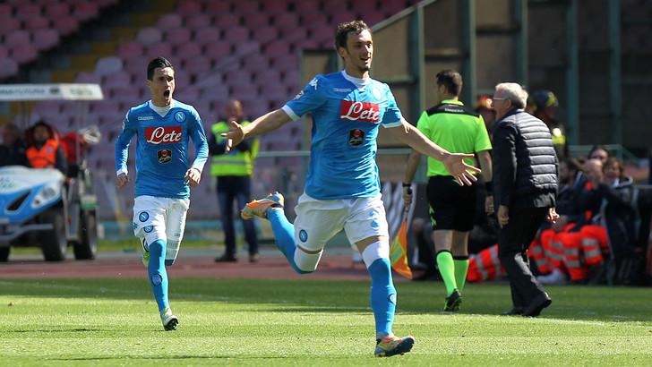 Gabbiadini c'è, Insigne e Callejon pure, tris Napoli col Verona