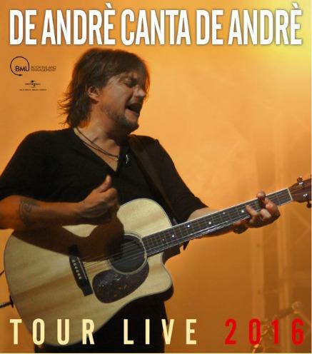 Cristiano De Andrè tra tour e autobiografia: un cognome che pesa molto