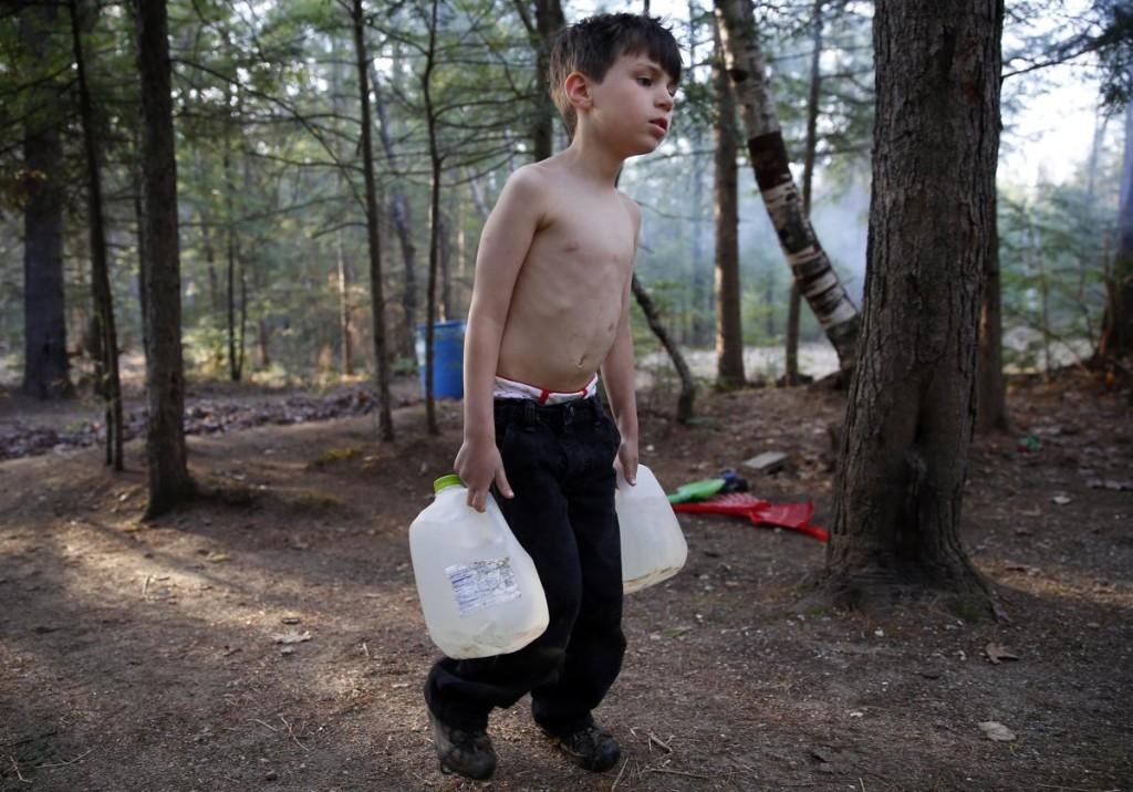 Strider, il bambino del reportage fotografico di Jessica Rinaldi del Boston Globe