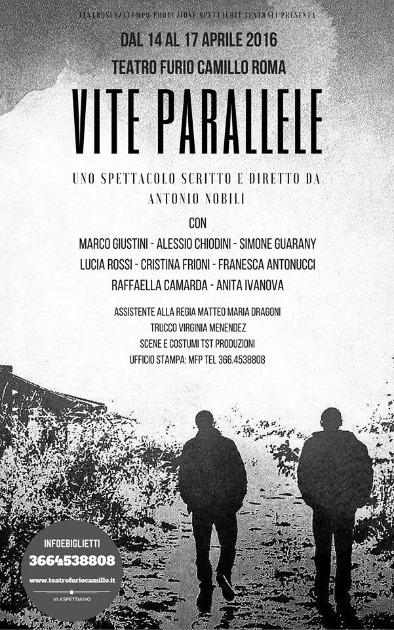 """Il coraggio di vivere, il coraggio di morire: """"Vite parallele"""" di Antonio Nobili al Teatro Furio Camillo"""