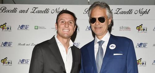 Bocelli and Zanetti Night: lo sport e la musica si uniscono a Milano il 25 maggio