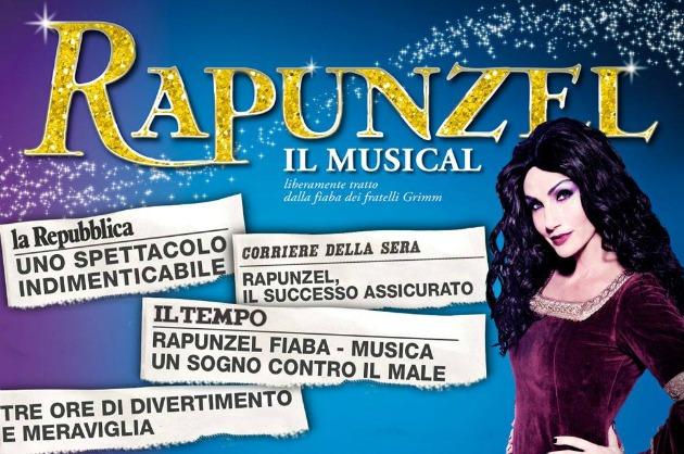 "L'atmosfera sognante di ""Rapunzel, il Musical"""