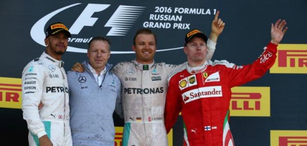 GP Russia: poker di Rosberg, Ferrari terza