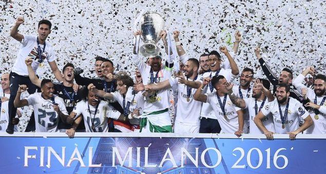 Il Real Madrid alza al cielo l'undicesima Champions League