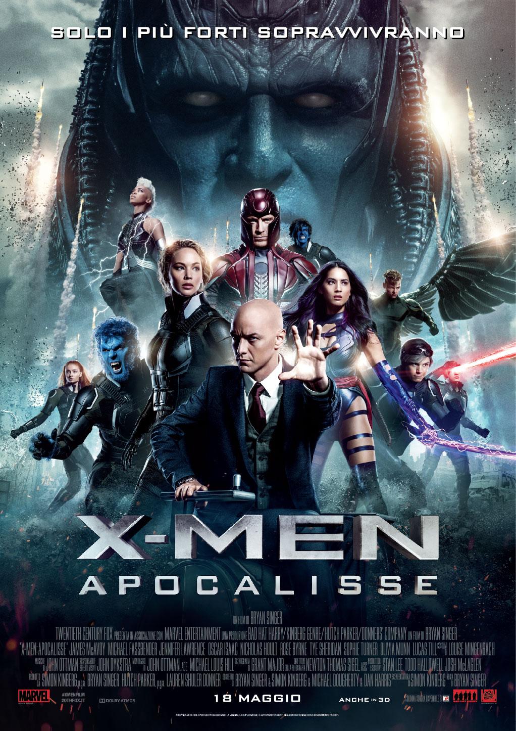 X-Men Apocalisse – Astonishing!