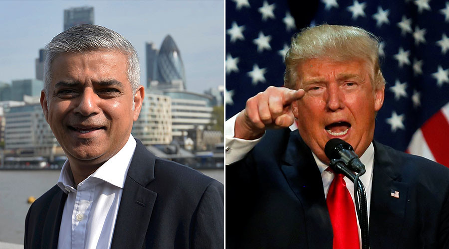 USA: Trump non vuole musulmani nel paese, tranne Sadiq Kahn