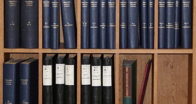 L'ultimo dizionario di latino: il Thesaurus Linguae Latinae sarà completato solo nel 2050