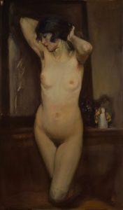 Lino Selvatico - Nudo, 1922