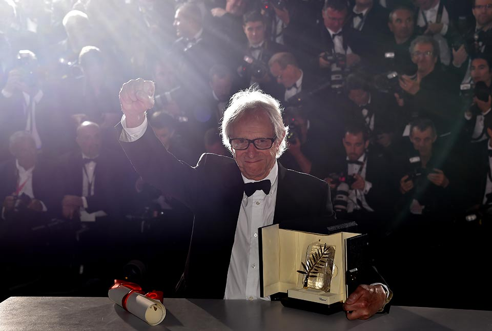 Ken Loach vince la Palma d'Oro – Festival di Cannes 2016