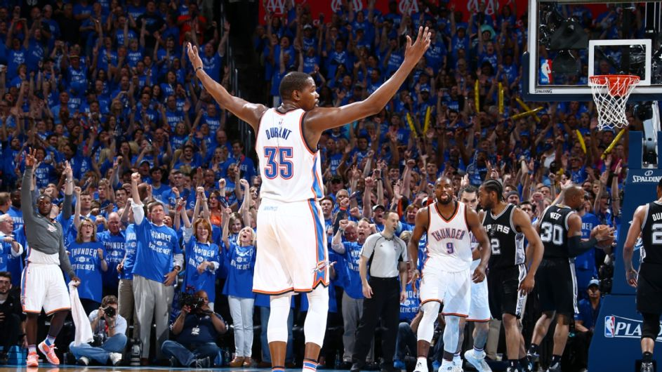 PLAYOFF NBA: Thunder in finale di conference
