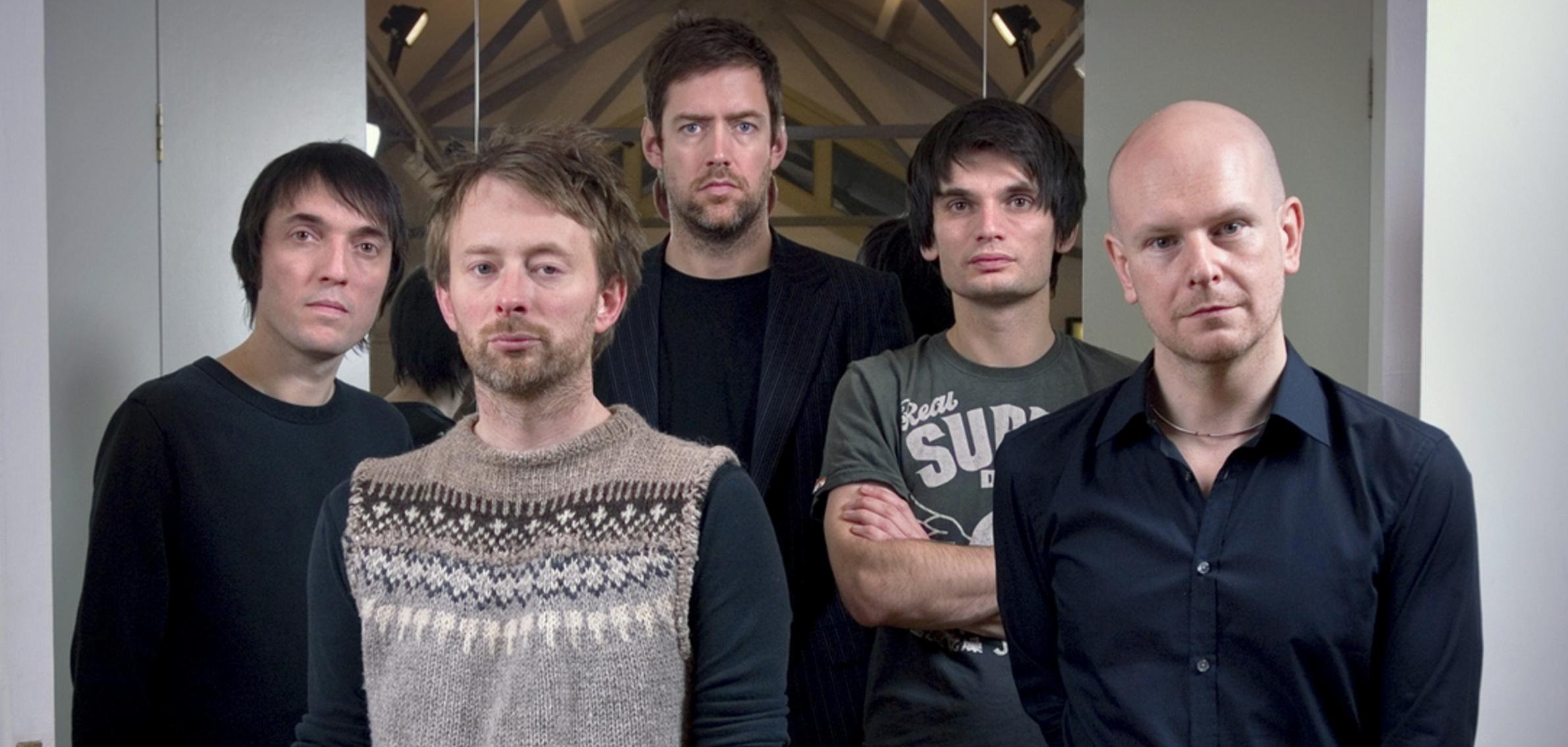 I Radiohead scompaiono dal web: i loro profili tutti in bianco