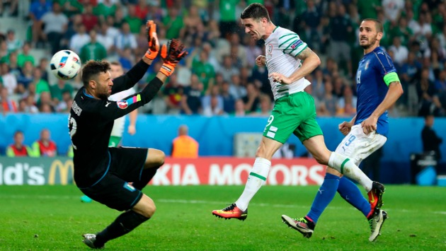 Euro 2016, a Lille Italia sconfitta di misura dall'Irlanda