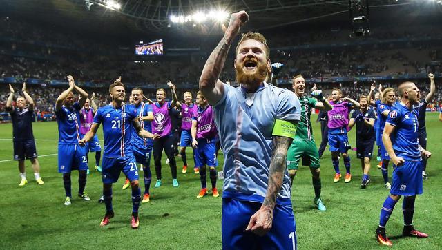 L'Islanda batte l'inghilterra ed entra nella storia