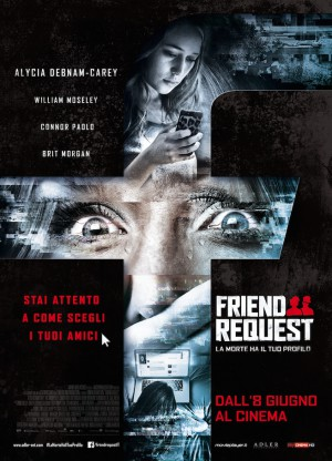 friend request locandina