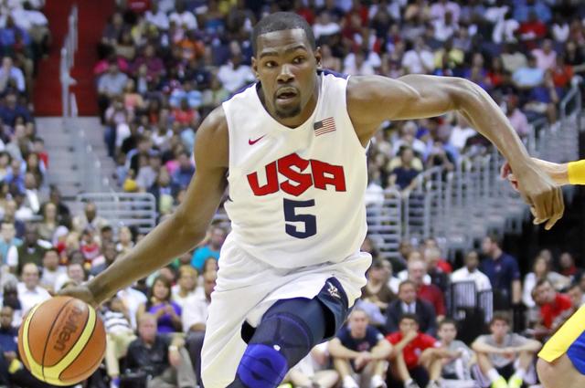 Leader di questo Team USA ed ambito free agent: Kevin Durant