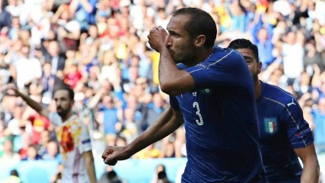 L'Italia batte la Spagna 2 – 0 e vola ai quarti