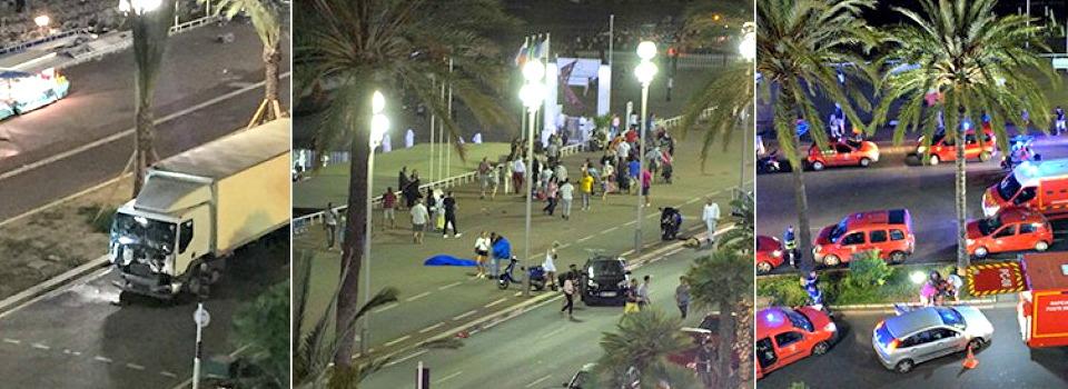 Attentato a Nizza, camion sulla folla: 84 morti e più di 100 feriti. L'attentatore è un franco-tunisino