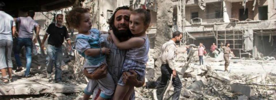 Aleppo: raid aerei sugli ospedali, morti numerosi civili