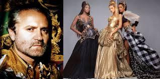 GIANNI VERSACE: quando la moda si tinse di nero
