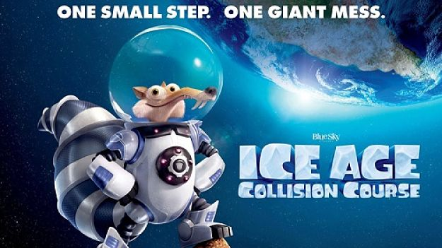L'era glaciale – In rotta di collisione, fantascienza naïf