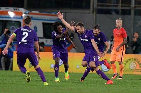 La Roma cade al Franchi, 1-0 per i Viola