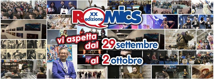 ROMICS: Settembre 2016, Tra fumetti e cultura, l'avanzata dei nuovi media