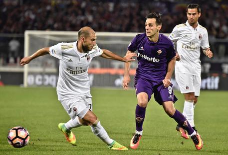 Fiorentina – Milan a reti bianche, Ilicic sbaglia un penalty