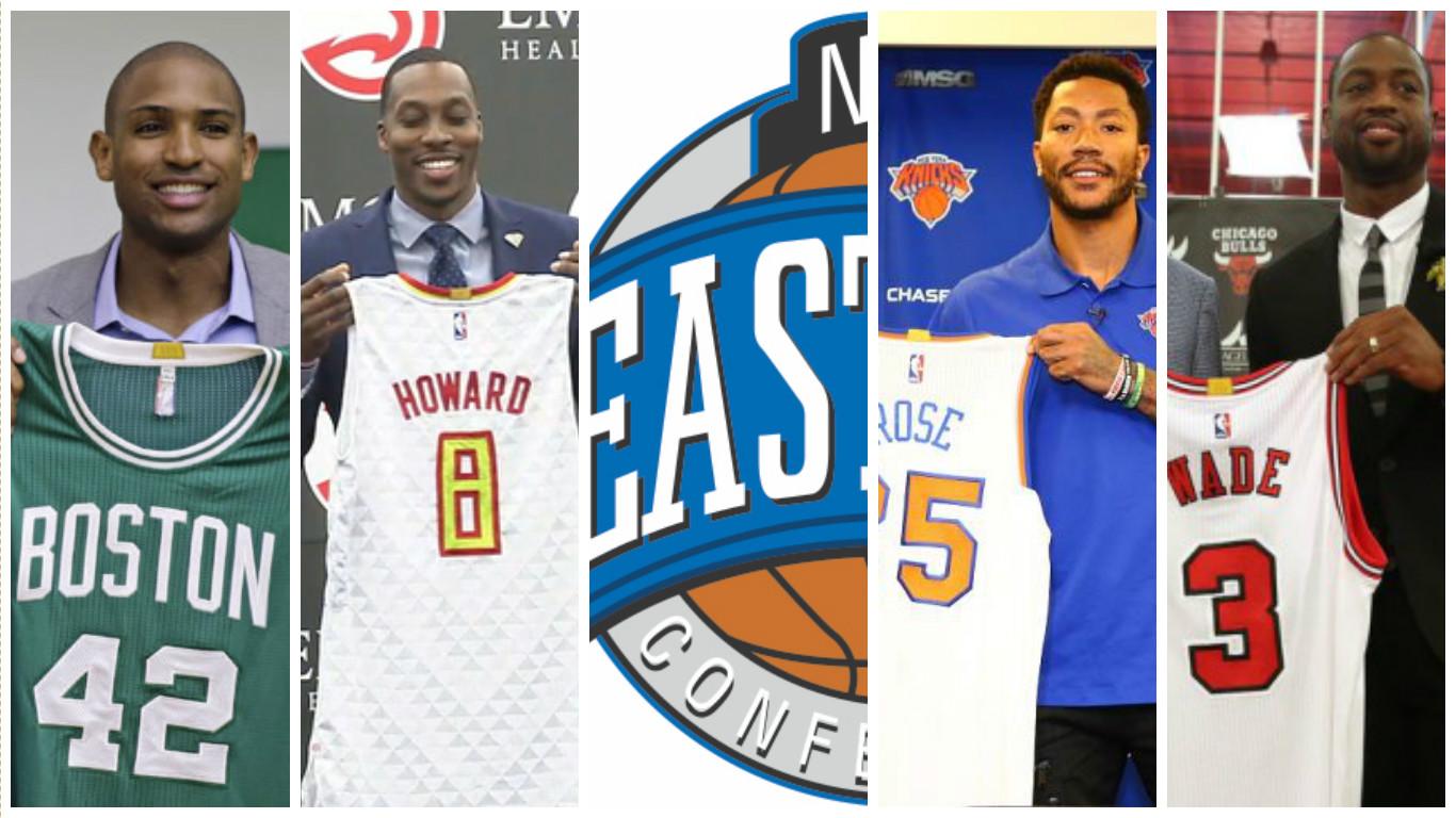 Basket NBA: Recap mercato NBA, Eastern Conference