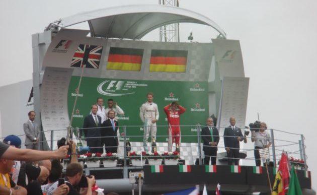 GP d'Italia: Rosberg vince, Hamilton regala e a seguire le Ferrari