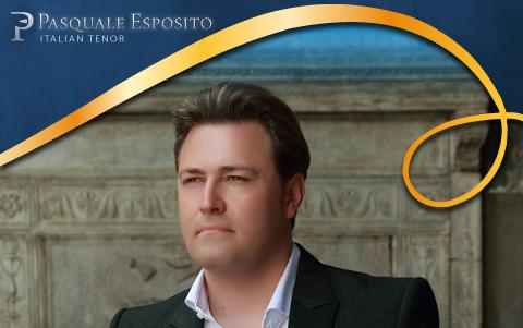 Attesa a Napoli per il concerto del tenore napoletano Pasquale Esposito