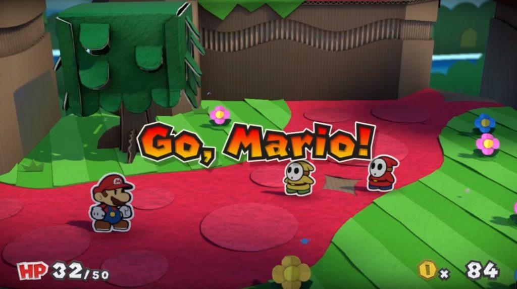 Paper Mario Gameplay