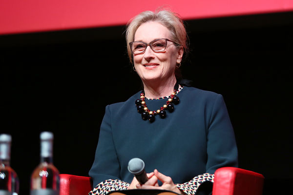 ROME, ITALY - OCTOBER 20:  Meryl Streep attends a press conference for 'Florence Foster Jenkins' during the 11th Rome Film Festival at Auditorium Parco Della Musica on October 20, 2016 in Rome, Italy.  (Photo by Ernesto Ruscio/Getty Images) *** Local Caption *** Meryl Streep