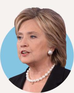 La 69enne candidata democratica, Hillary Clinton