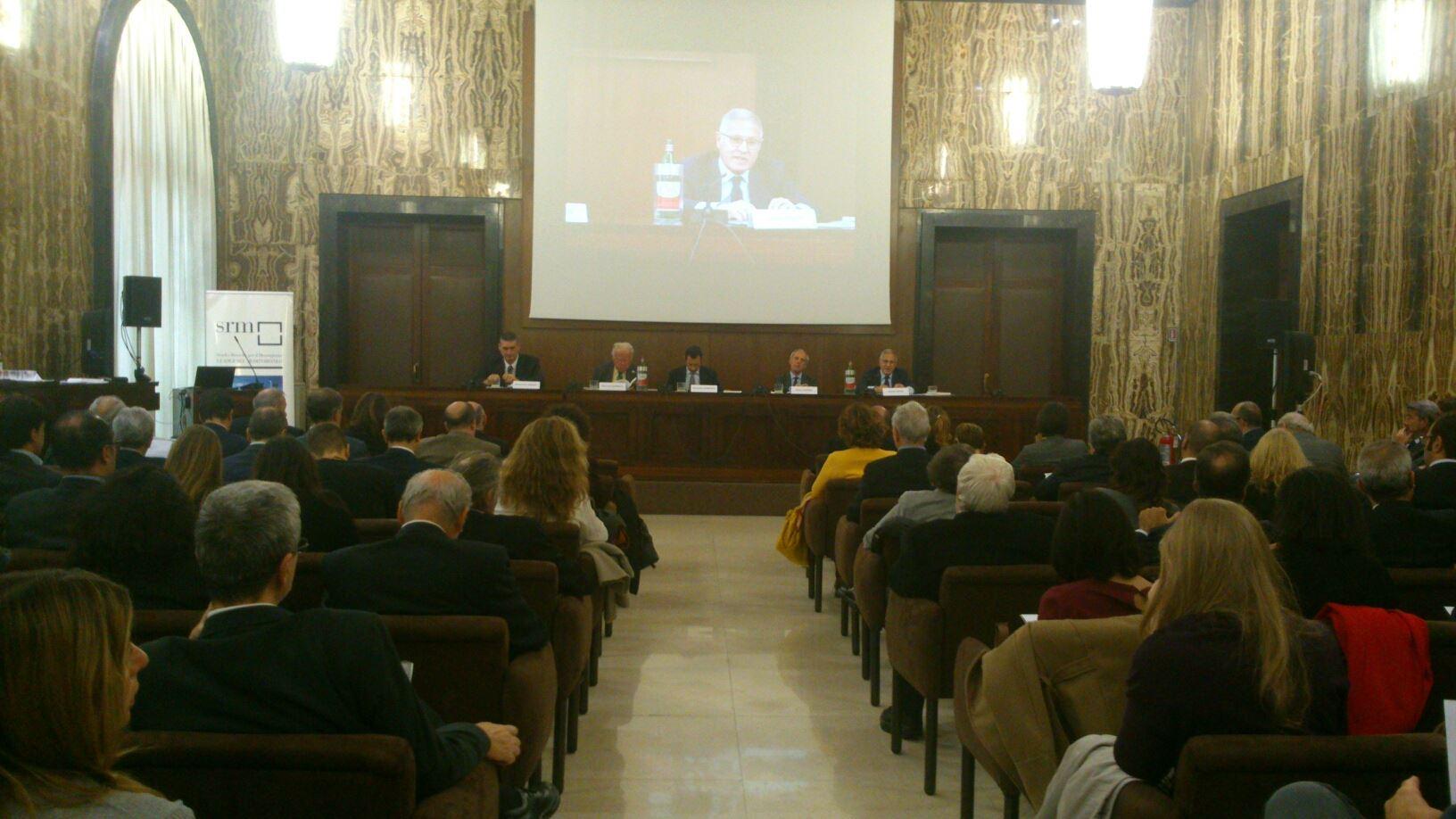 """Presentato il 6° Rapporto Annuale SRM """"Le relazioni economiche tra Italia e Mediterraneo"""