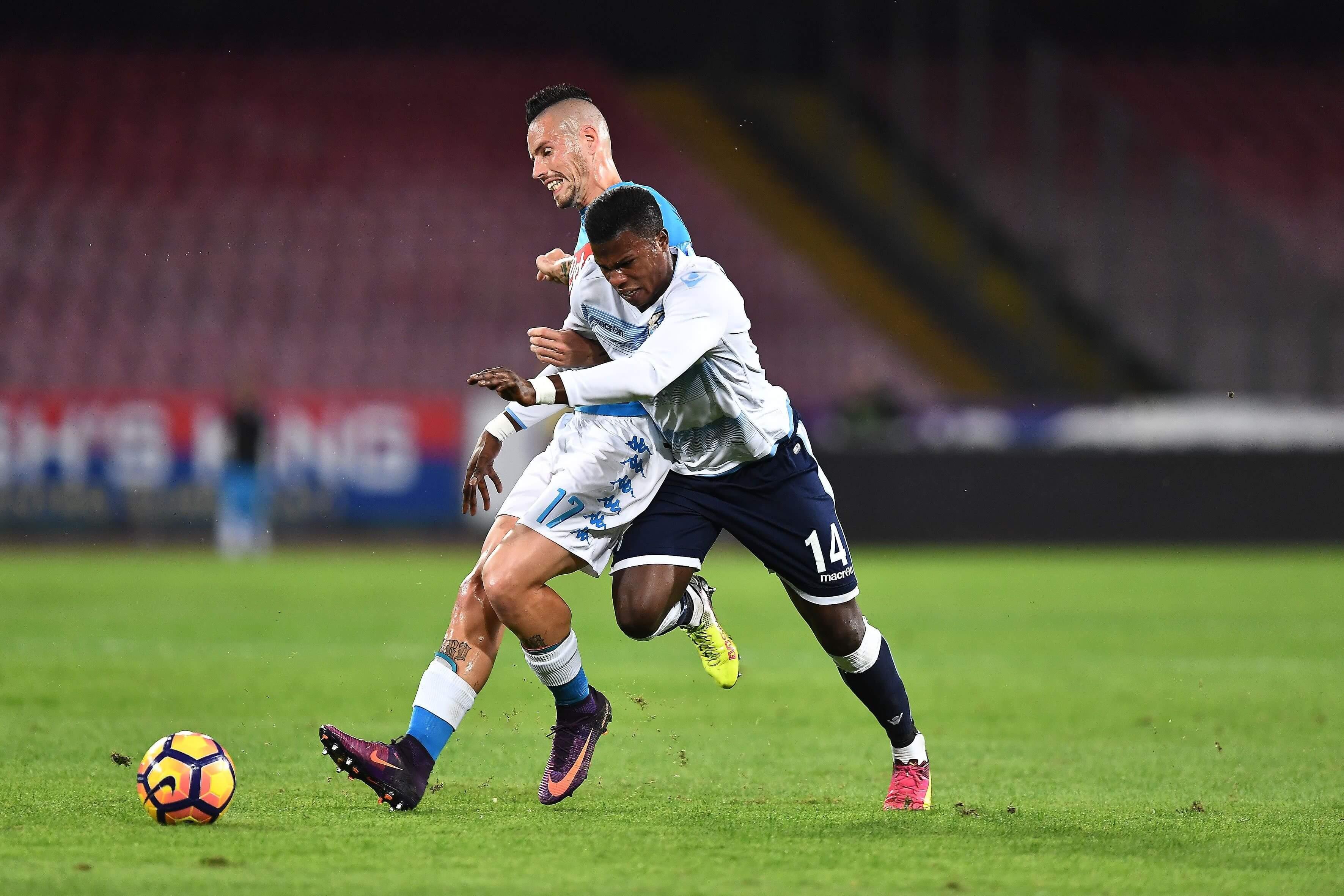 La Lazio con coraggio, Reina fatale: 1-1 Napoli-Lazio