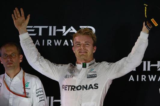 Abu Dhabi: Rosberg Campione del Mondo