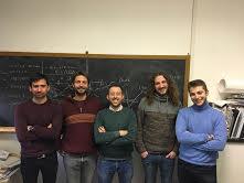 Gonzalo Carvacho, Marco Bentivegna, Fabio Sciarrino, Luca Santodonato, Francesco Andreoli (da sinistra verso destra)