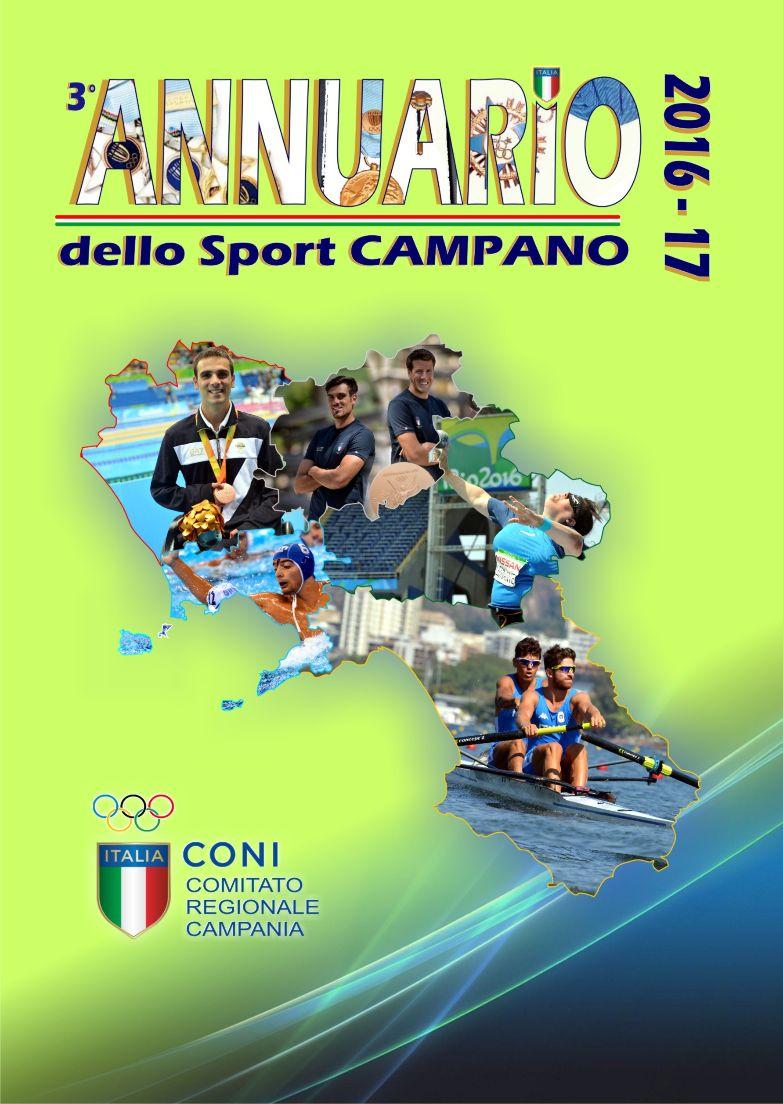 Presentato Annuario Sport Campano del Coni edizione 2016-17