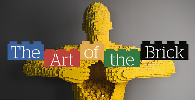 THE ART OF BRICK | Nathan Sawaya sbarca a Roma