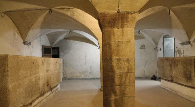 """Le vasche """"misteriose"""" dell'Ospedale di Santa Maria Nuova"""