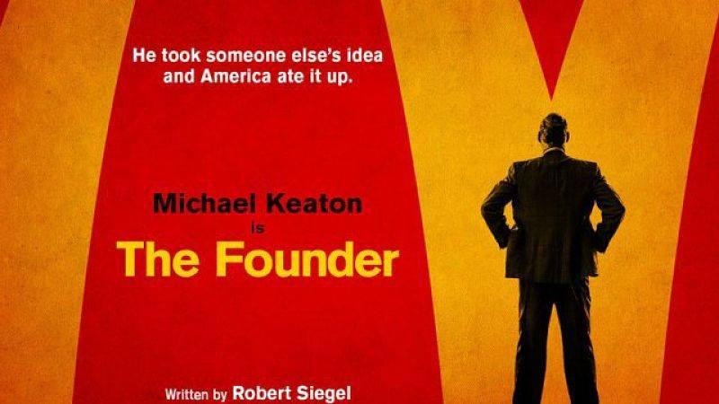 THE FOUNDER | Ray Kroc ruba McDonald's