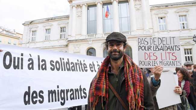Cédric Herrou e il processo per aver aiutato i migranti