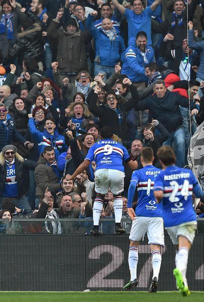 La Sampdoria prende a schiaffi la Roma: 3-2 al Ferraris
