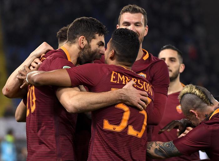 Poker Roma: 4-0 alla Fiorentina