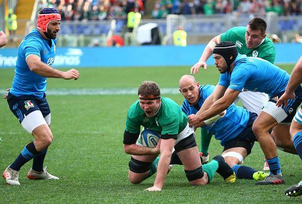 Rugby 6 Nazioni –  Irlanda stravince all'olimpico
