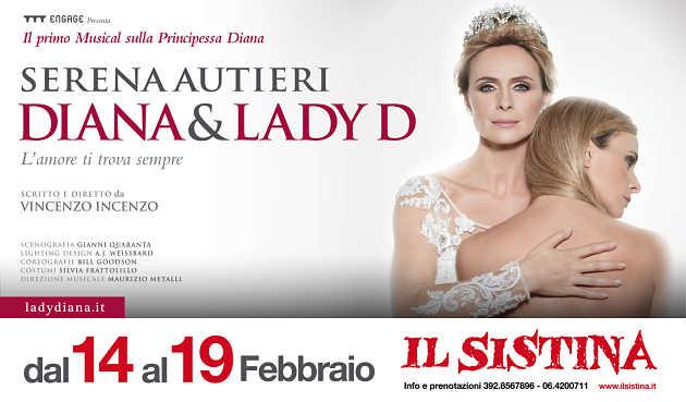 Una magica Serena Autieri incanta il pubblico del Teatro Sistina di Roma nel ruolo di Lady D