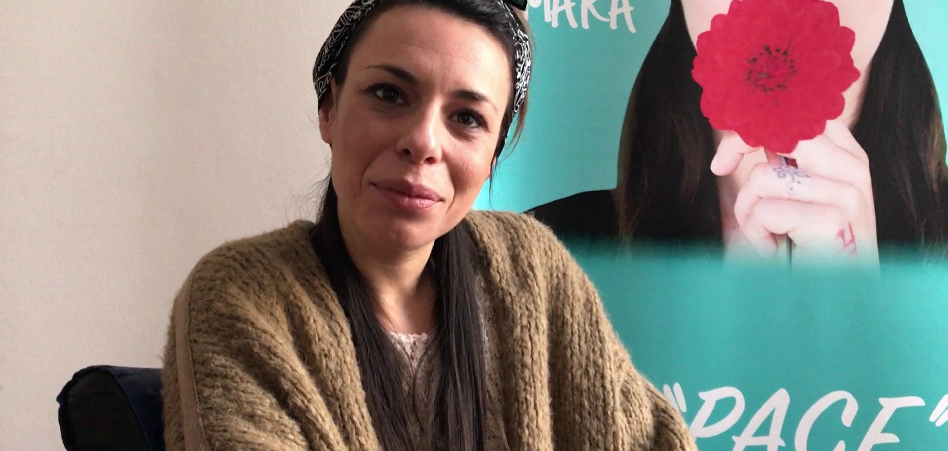 (VIDEO) Intervista ad Amara: «Prima raggiungersi e poi condividersi, la pace parte da noi»